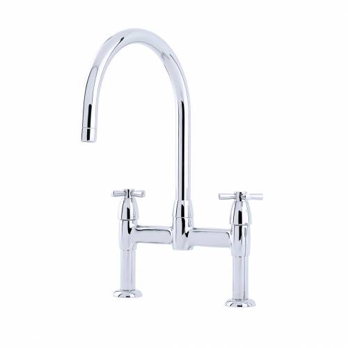 4292 Twin Lever Kitchen Tap