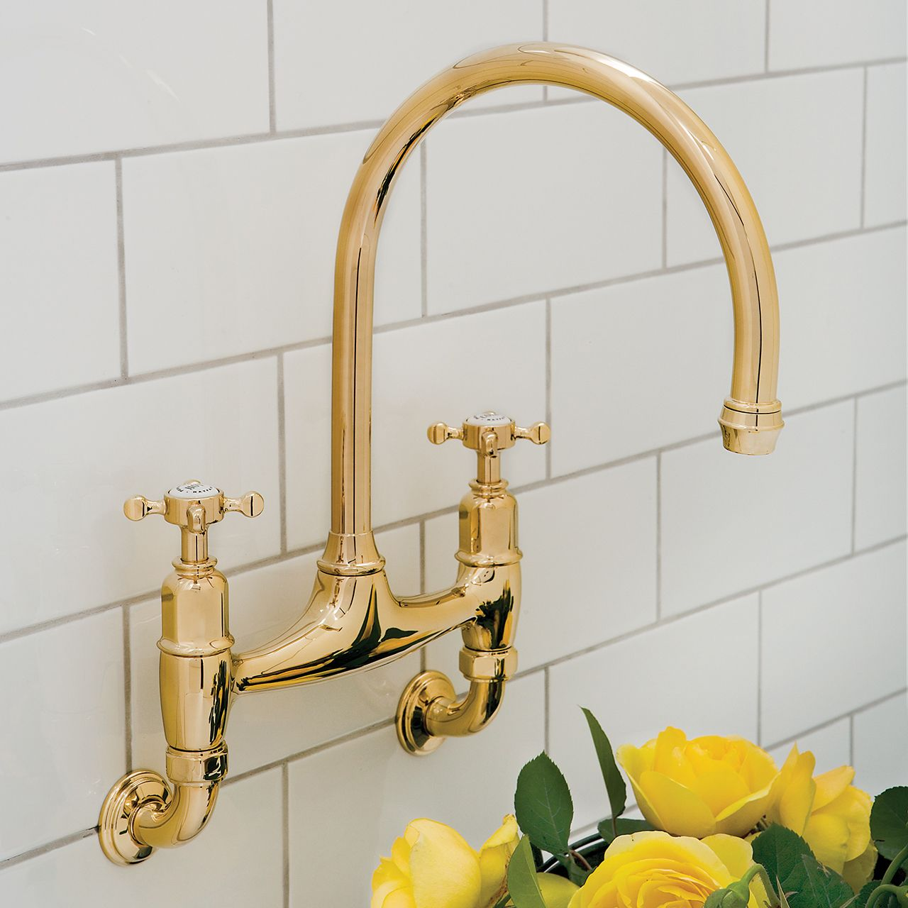 Perrin & Rowe IONIAN 4182 Wall Mounted Tap - Sinks-Taps.com
