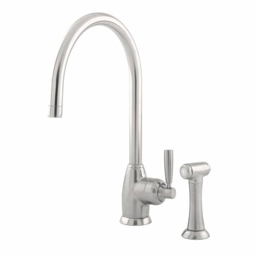 4846 Single Lever Kitchen Tap with Rinse
