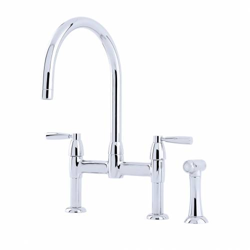4273 Twn Lever Kitchen Tap with Rinse