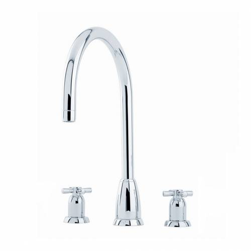 CALLISTO 4885 Three Hole Kitchen Tap