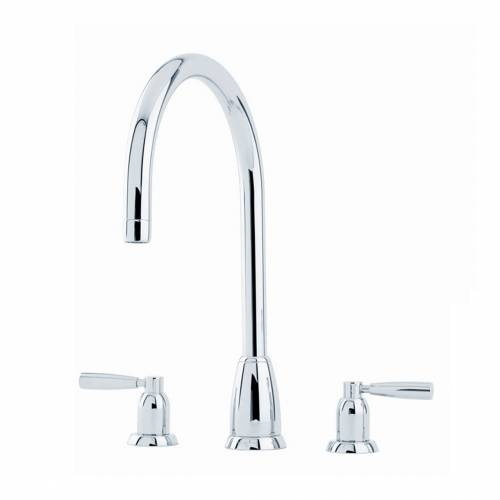 CALLISTO 4886 Three Hole Kitchen Tap