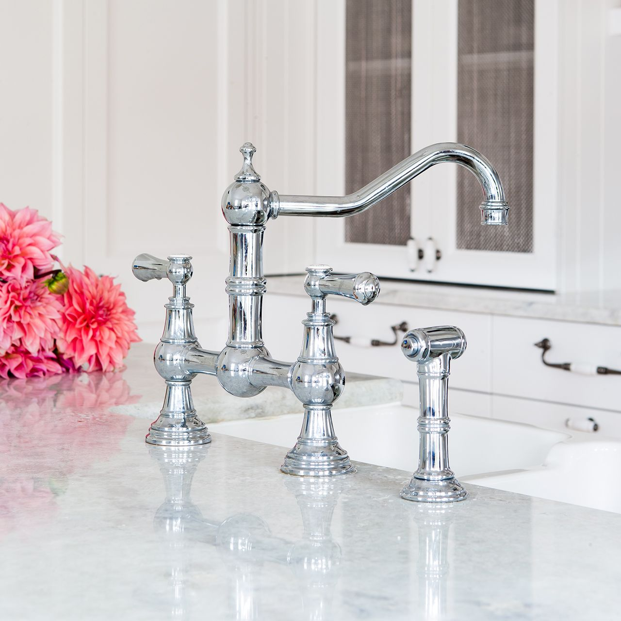 Perrin Amp Rowe Provence 4756 Tap With Rinse Sinks Taps Com