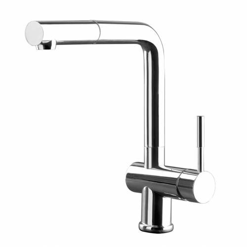 OXYGEN Monobloc Kitchen Mixer Tap with Pull-Out Rinse