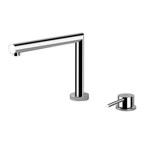 Gessi LOGIC 50107 2 Hole Kitchen Mixer Tap with 3 Positions