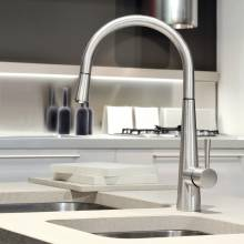 JUST Monobloc Kitchen Tap with Pull-Out Rinse