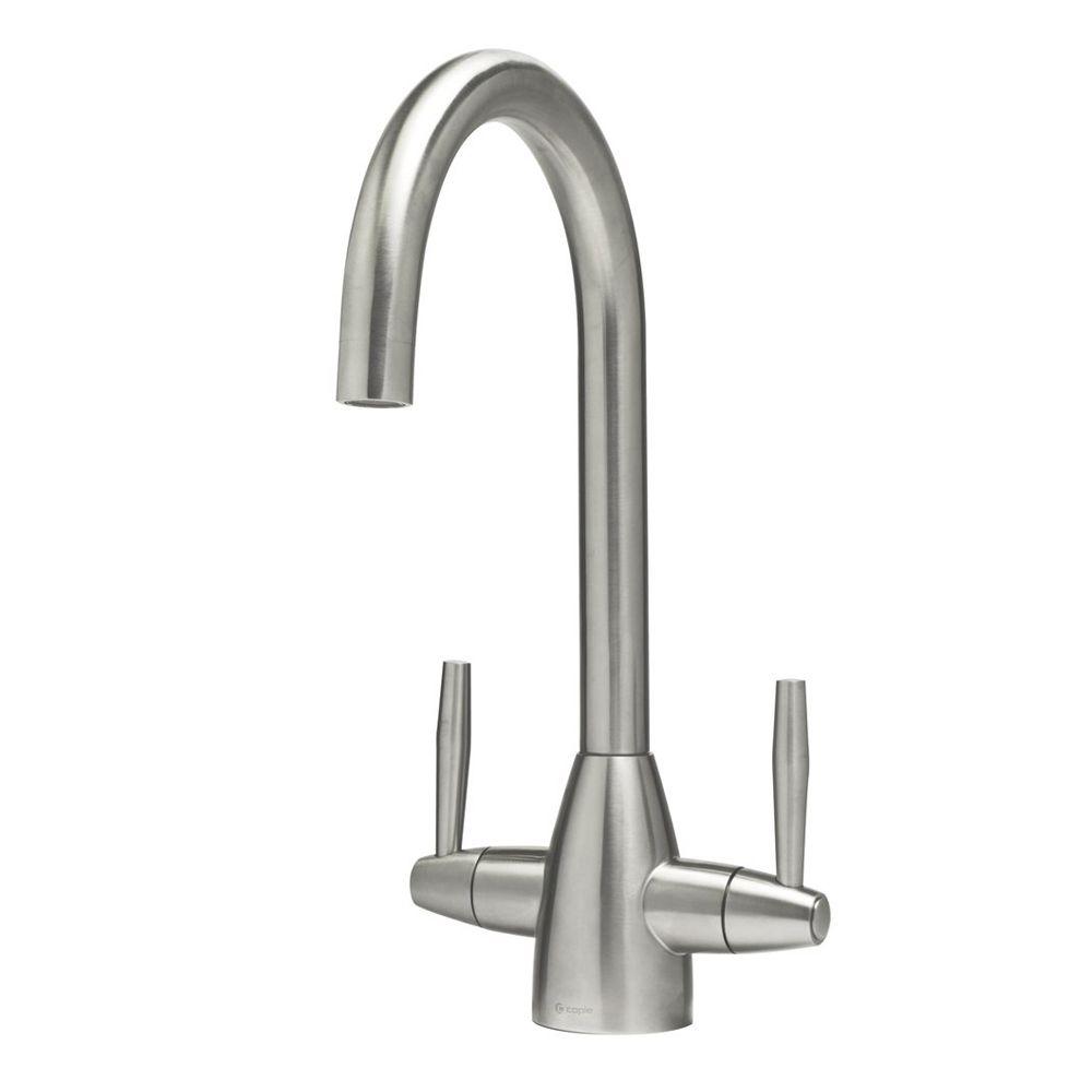 Caple Avel Twin Lever Kitchen Tap Sinks Taps Com