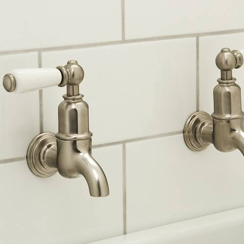 4322 MAYAN Bibcock Wall Mounted Kitchen Tap with Lever Handles
