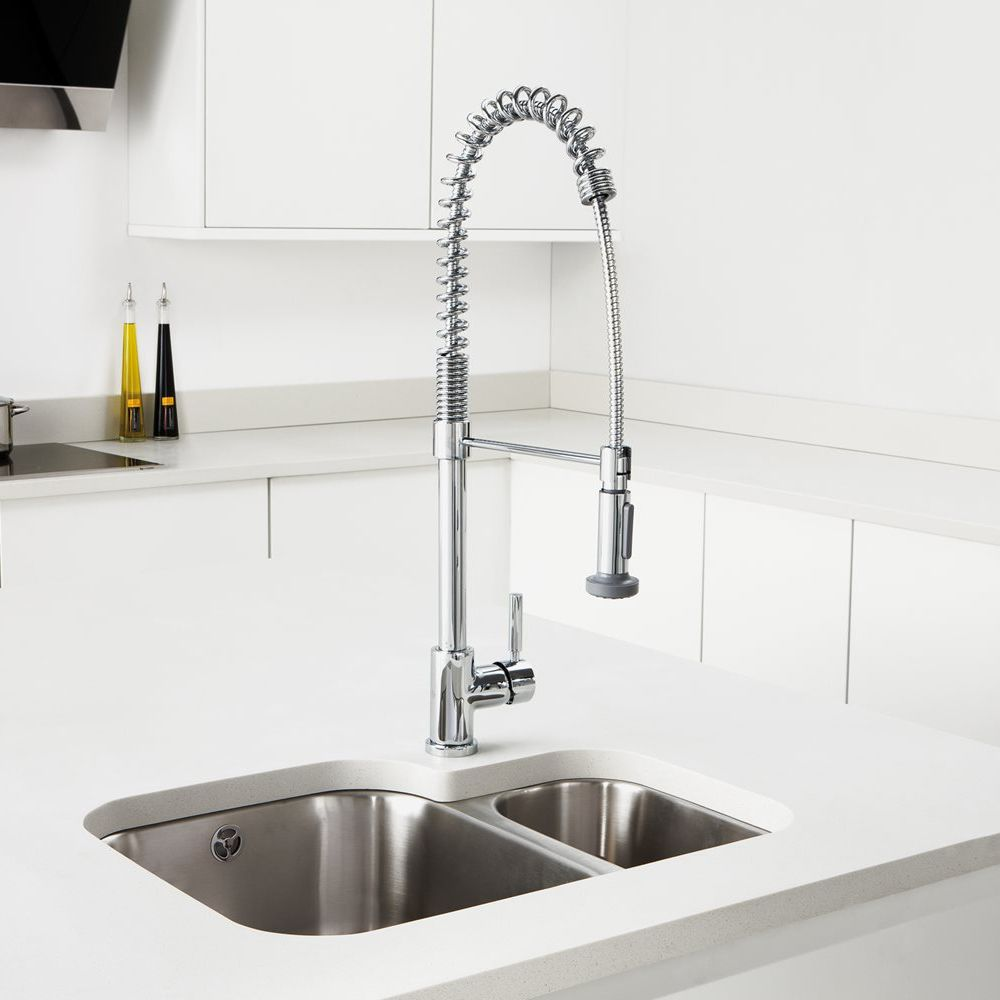 Caple TORRENT Professional Pull Out Kitchen Tap - Sinks-Taps.com
