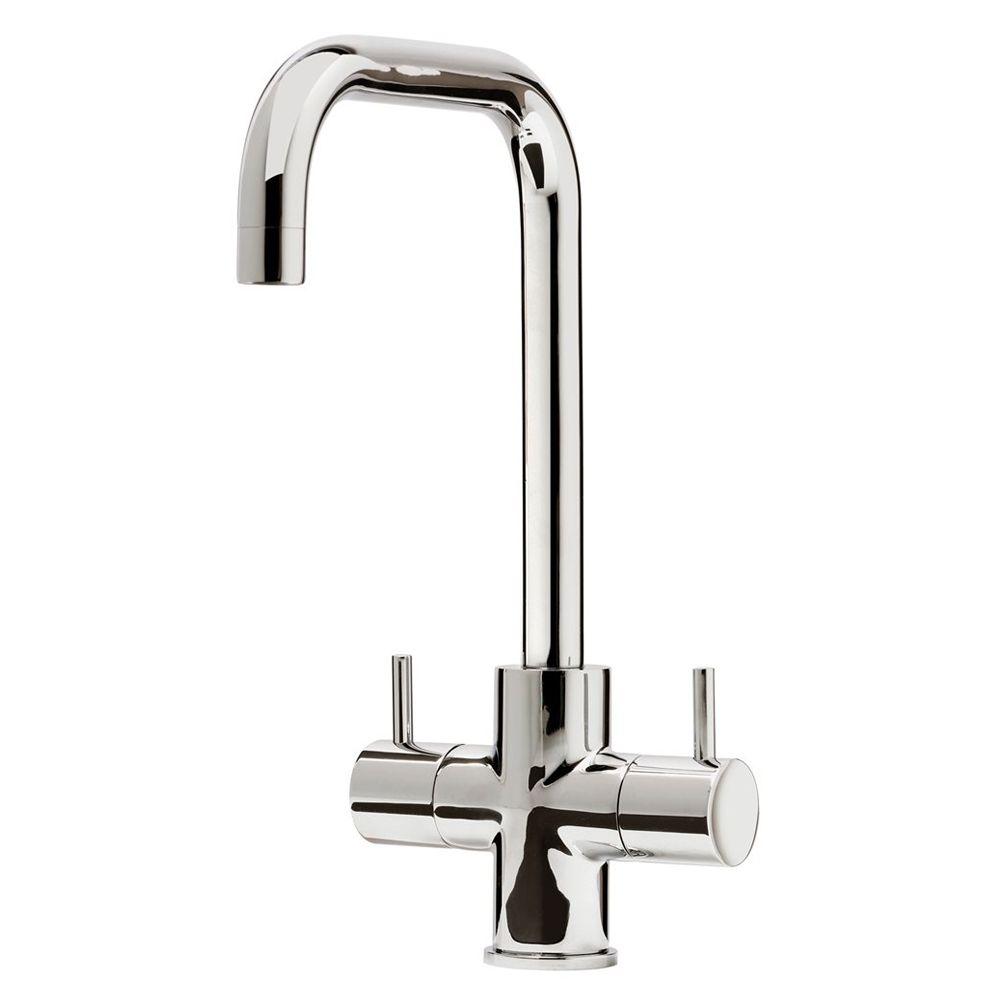 White Monobloc Kitchen Taps Low Pressure Kitchen Taps Sinks Tapscom