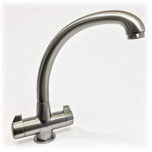 Milano Twin Lever Kitchen Mixer Tap