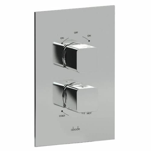 Fervour Concealed Thermostatic Shower Valve (2 exit)