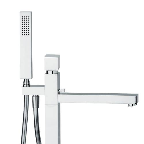 ZEAL Floor Standing Bath Filler Tap with Shower Handset