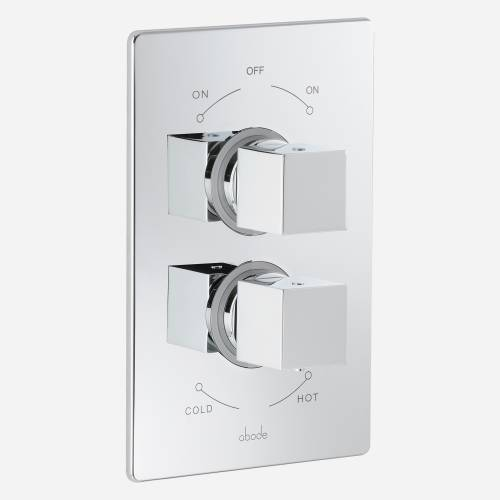 Zeal Concealed Thermostatic Shower Valve (2 exit)