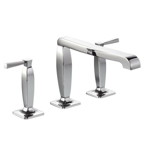 DECADENCE Deck Mounted 3 Hole Bath Mixer Tap