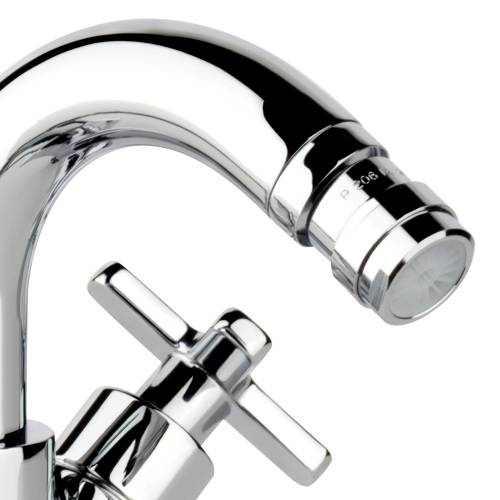 Serenitie Bidet Monobloc Mixer Tap with Pop up Waste