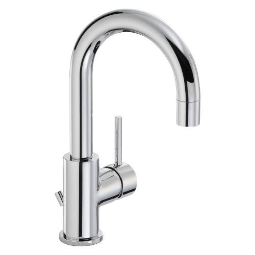 HARMONIE Basin Mixer Tap with Side Lever with Pop up Waste