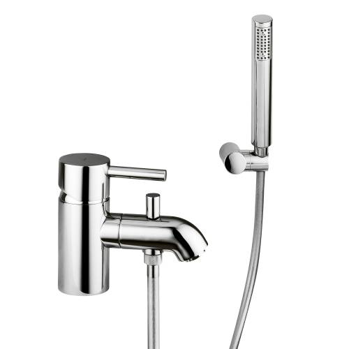 HARMONIE Bath Monobloc Mixer Tap with Shower Diverter & Handset