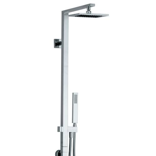 Square Wall Mounted Thermostatic Shower Post