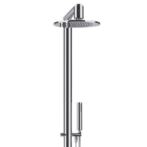 Oval Wall Mounted Exposed Thermostatic Shower Post