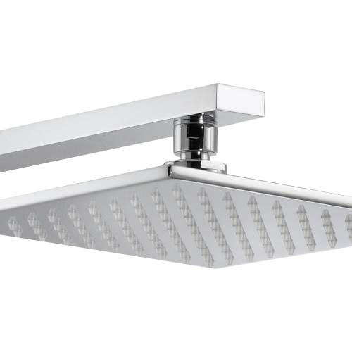 Square Showerhead Kit (Wall)