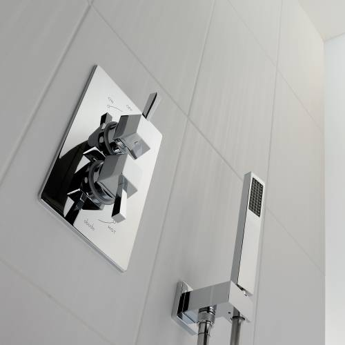 Decadence Concealed Thermostatic Shower Valve (2 exit)