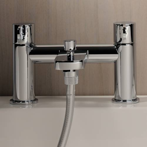 BLISS Deck Mounted Bath Shower Mixer Tap with Shower Handset