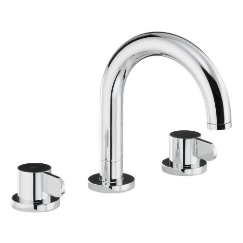 BLISS Thermostatic Deck Mounted 3 Hole Bath Mixer Tap