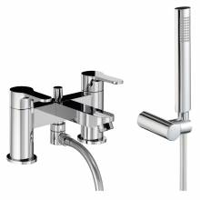 DEBUT Deck Mounted Bath Shower Mixer Tap with Shower Handset