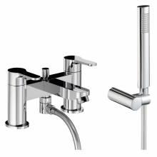 DEBUT Deck Mounted Bath Shower Mixer Tap with Shower Handset
