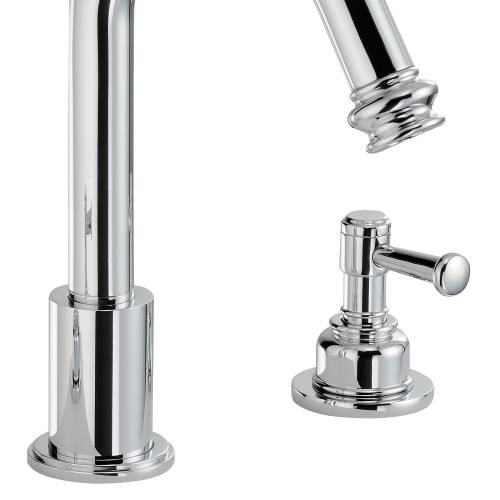 GALLANT Deck Mounted 3 Hole Basin Mixer Tap
