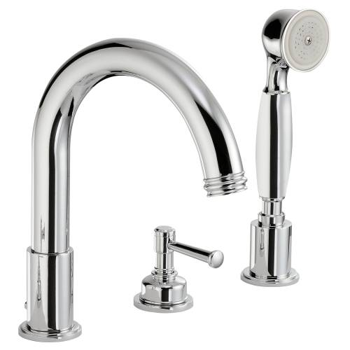 GALLANT Deck Mounted 4 Hole Bath Shower Mixer Tap