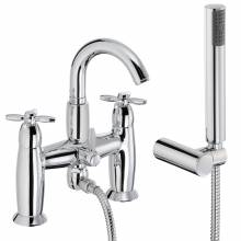 OPULENCE Deck Mounted Bath Shower Mixer Tap with Shower Handset
