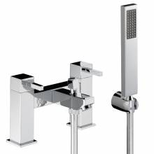 Zeal Deck Mounted Bath Shower Mixer with Shower Handset