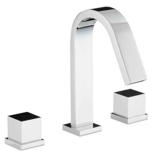 ZEAL Thermostatic Deck Mounted 3 Hole Bath Mixer Tap