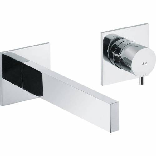 CYCLO Wall Mounted 2 Hole Bath Mixer Tap - Chrome