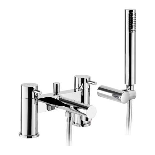 Tanto Deck Mounted Bath Shower Mixer Tap with Shower Handset