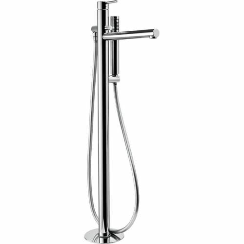 Tanto Floor Mounted Bath Shower Mixer Tap with Shower Handset