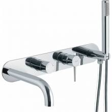 Chao Wall Mounted Bath Shower Mixer Tap with Shower Handset