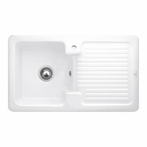 CONDOR 50 1.0 Bowl Kitchen Sink - Ceramic Line
