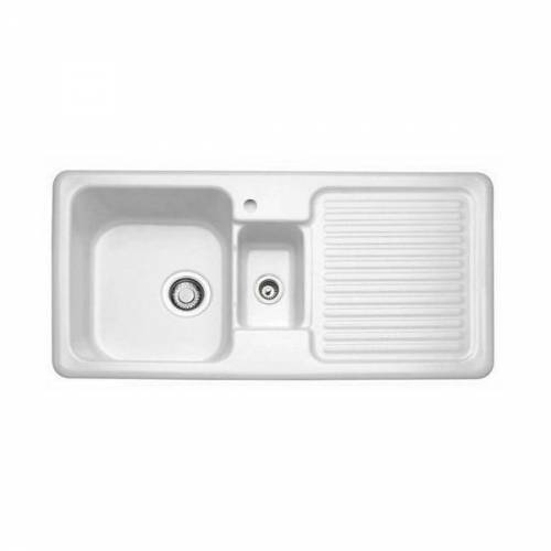 CONDOR 60 1.5 Bowl Kitchen Sink - Ceramic Line