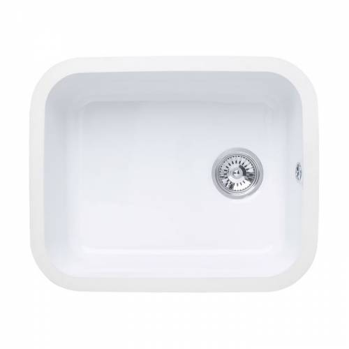 LINCOLN Undermount Ceramic Kitchen Sink 500x400