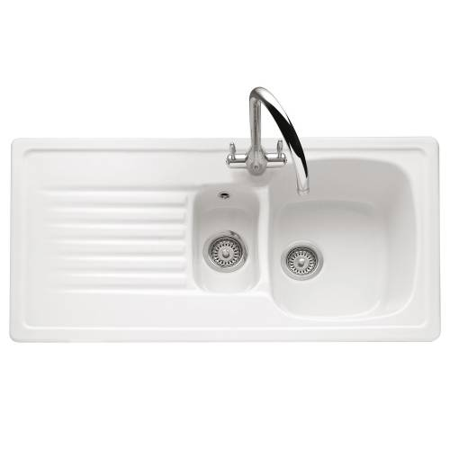 ASHFORD 150 Inset Ceramic Kitchen Sink