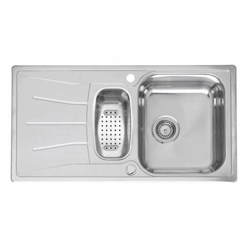 DIPLOMAT 1.5 Bowl Kitchen Sink and Drainer - RL220S