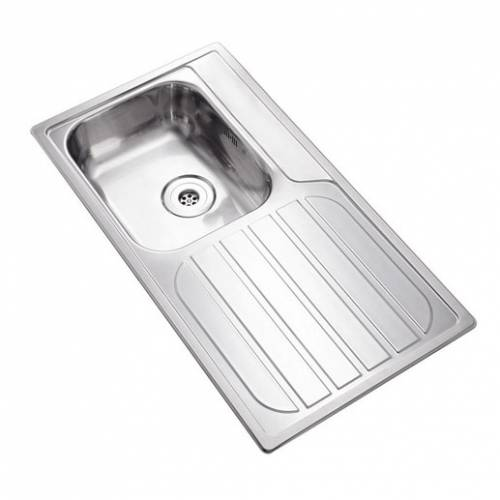DUKE 10BA Single Bowl Kitchen Sink and Drainer