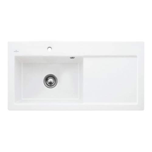SUBWAY 60 XL Single Bowl Kitchen Sink - Ceramic Line