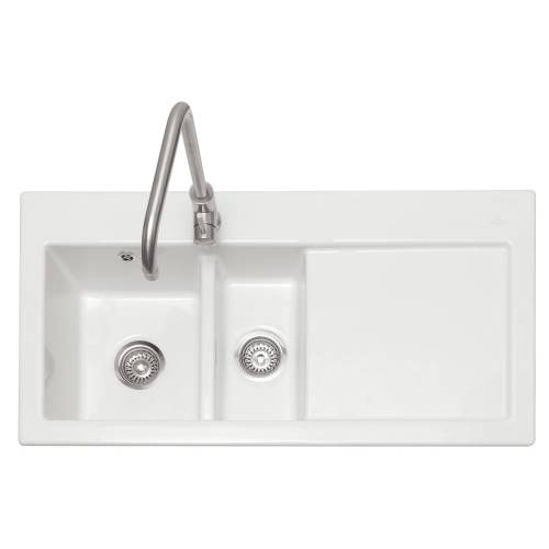 AVALON 150 Ceramic Inset Kitchen Sink