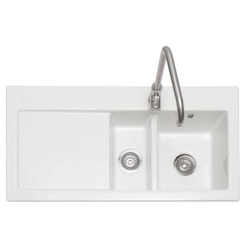 AVARA 150 1.5 Bowl Ceramic Kitchen Sink