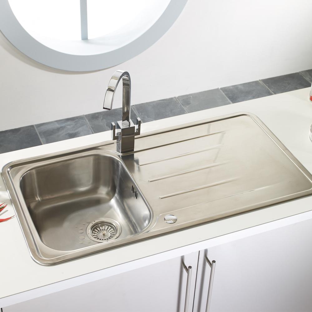 Astracast TOPAZ 1.0 Bowl Stainless Steel Kitchen Sink