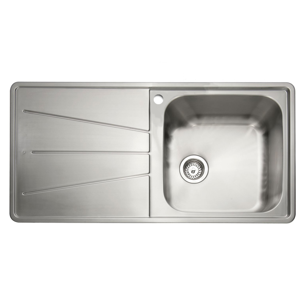 inset kitchen sink caple blaze 100 1 0 bowl inset kitchen sink sinks taps 1870